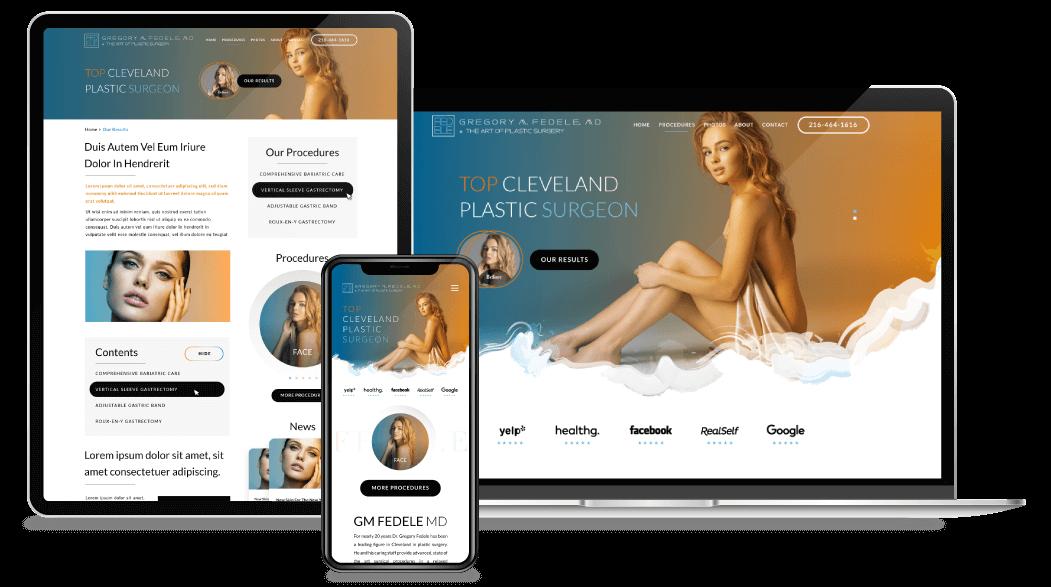 Medical Spa Website Design