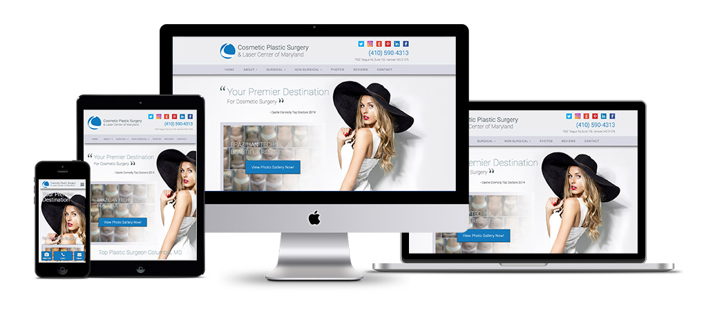 Medical Website Design Responsive Plastic Surgery Web Design Growthmed